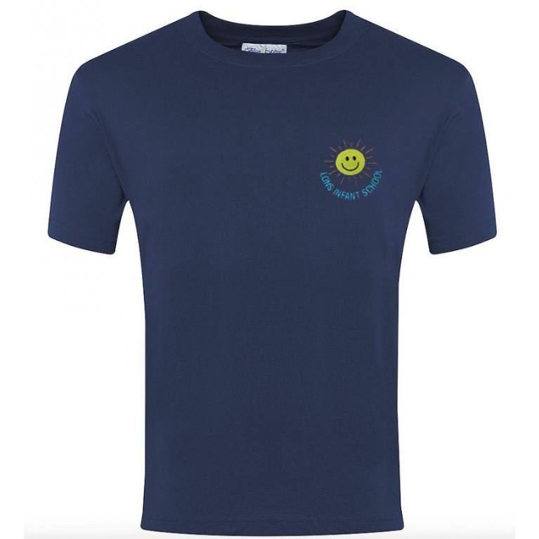 Navy P.E T-shirt
