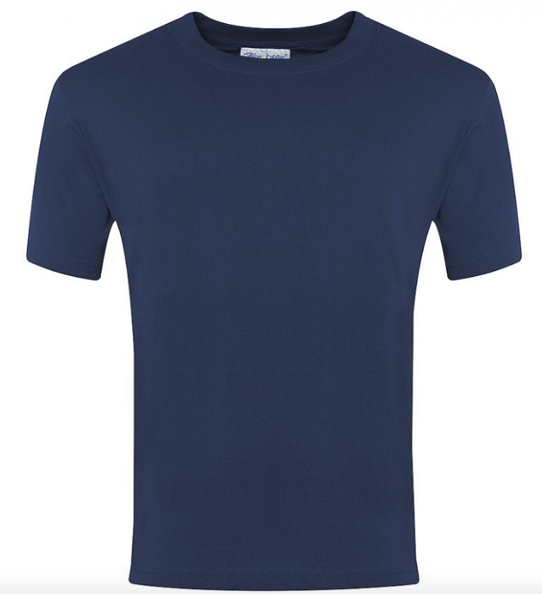 Plain Navy P.E T-Shirt