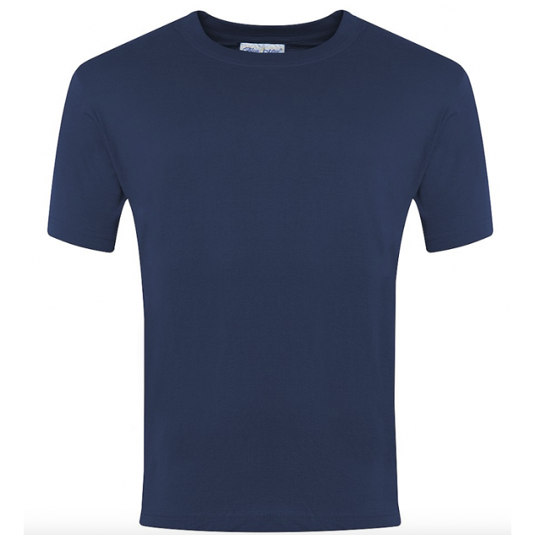 Plain Navy P.E T-Shirt