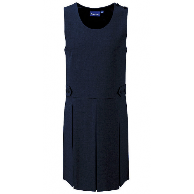 Girls Tenby Pinafore in Navy