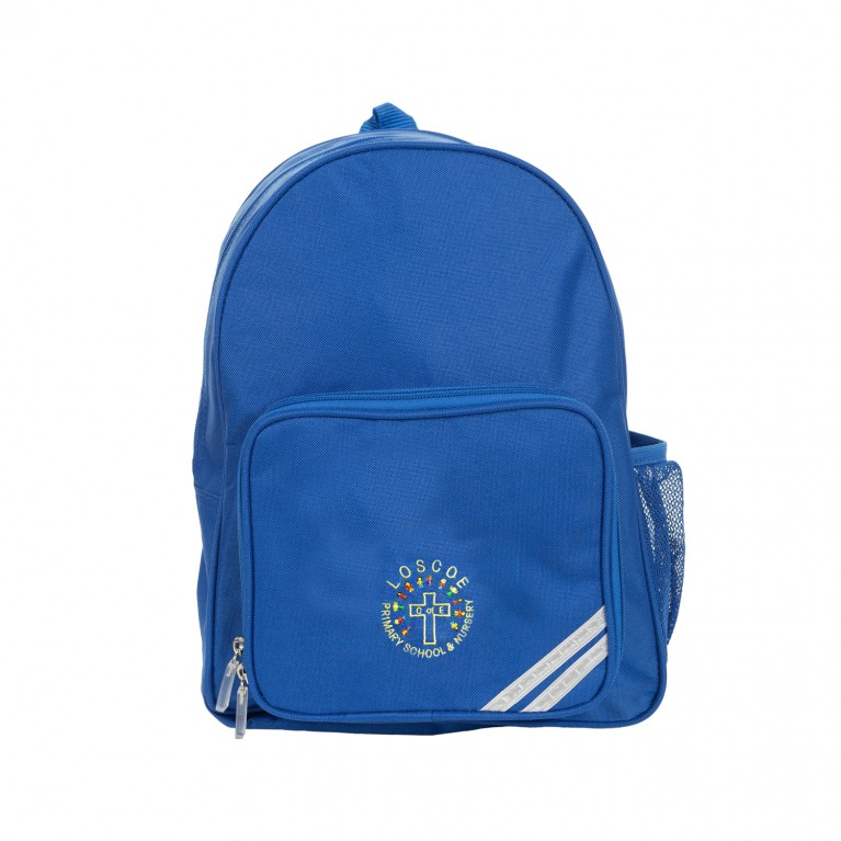 Blue Infant Backpack