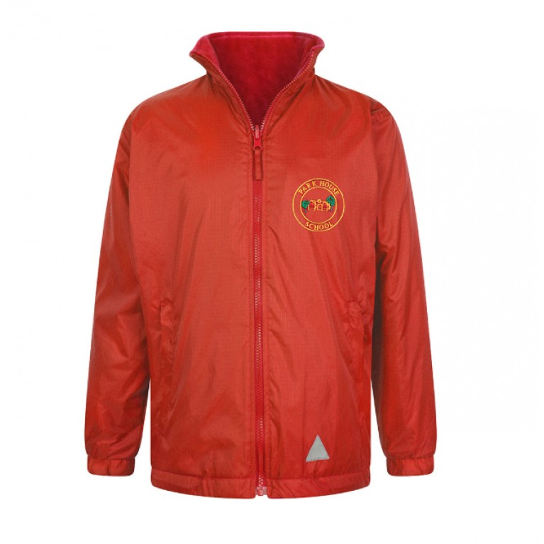 Red Reversible Showerproof Jacket
