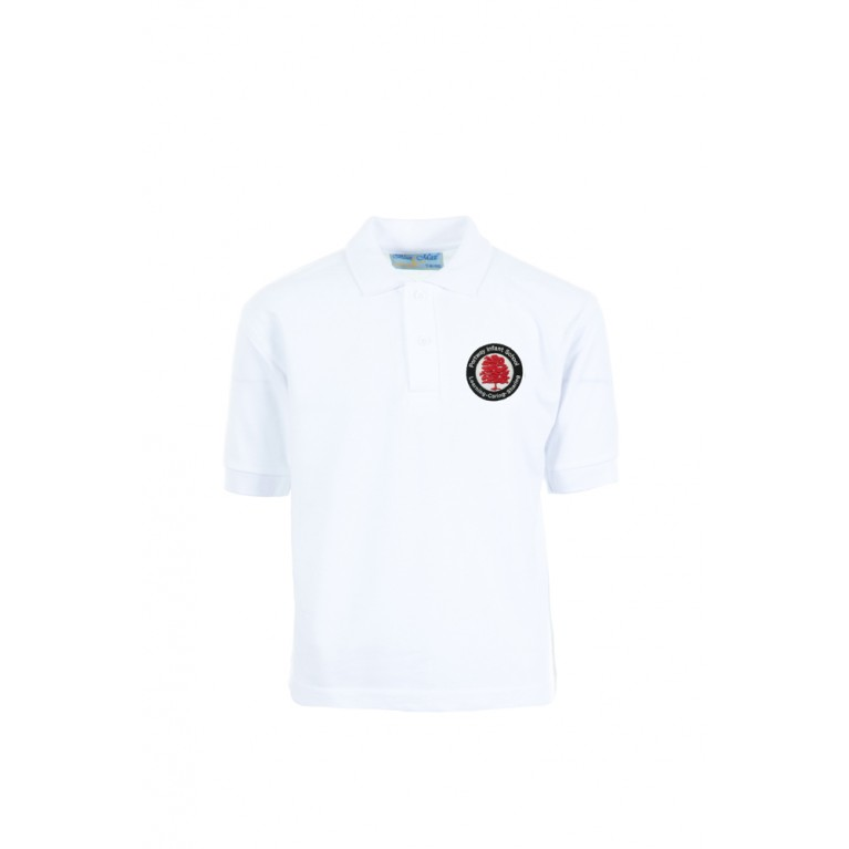 White Penthouse Polo Shirt