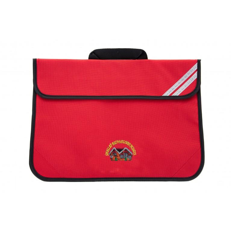 Red Short Handle Bookbag