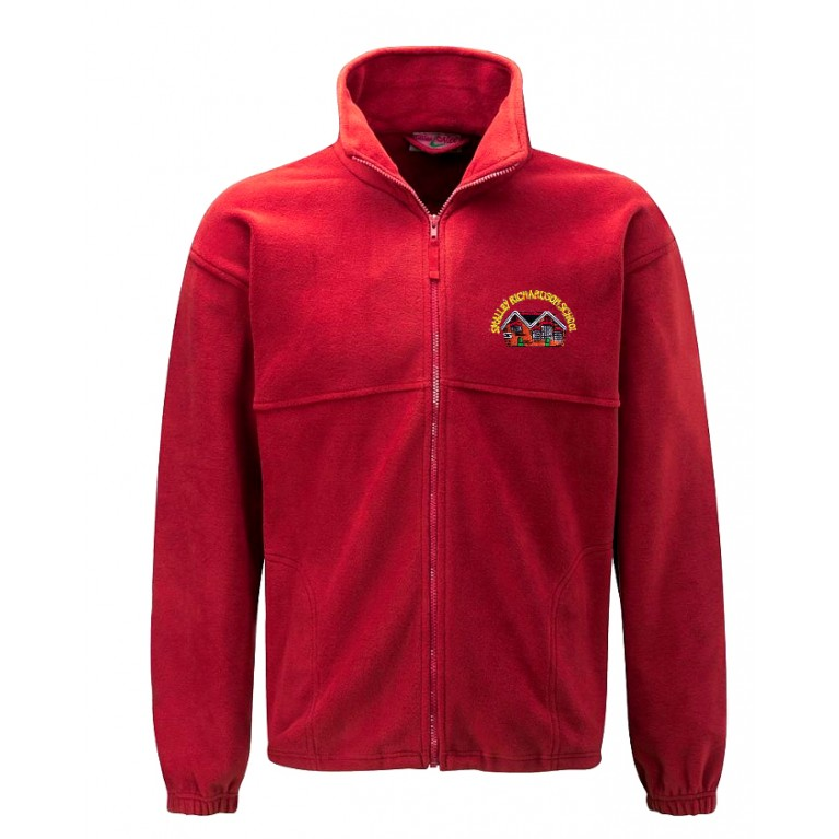 Red Fleece (Suitable for PE)