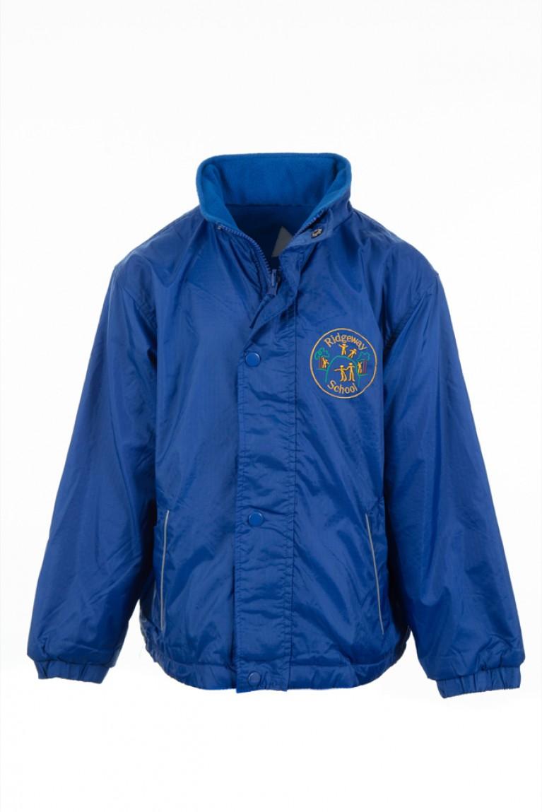Blue Reversible Showerproof Jacket