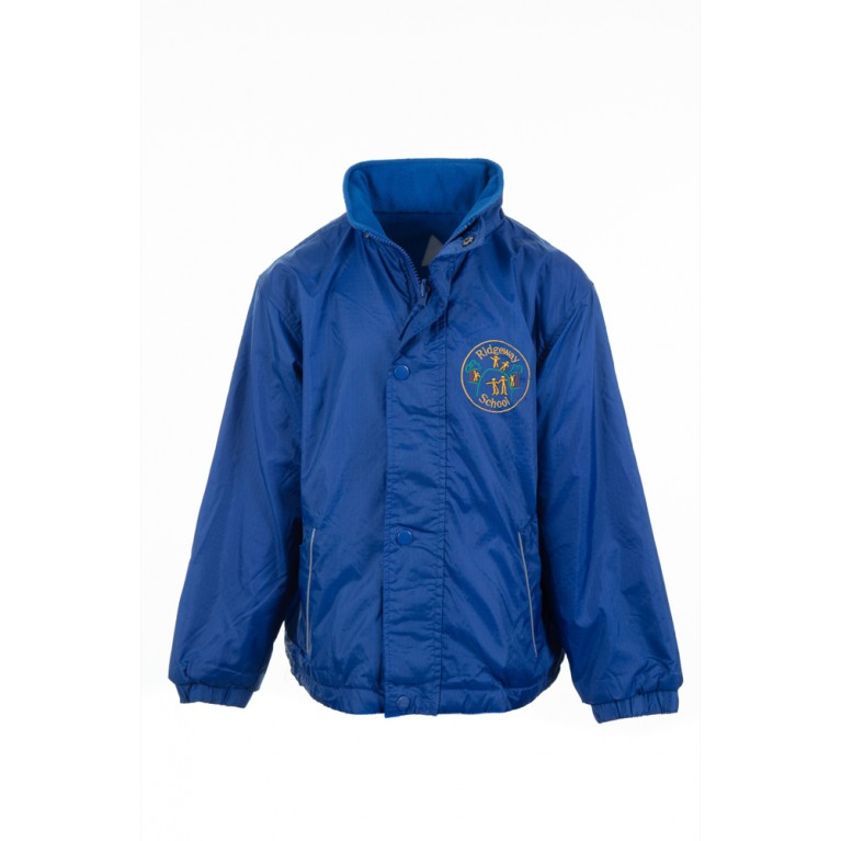 Blue Reversible Showerproof Jacket