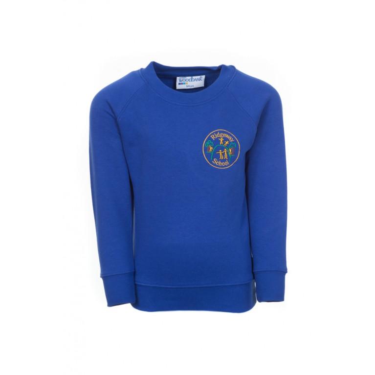 Blue Woodbank Round Neck Sweatshirt
