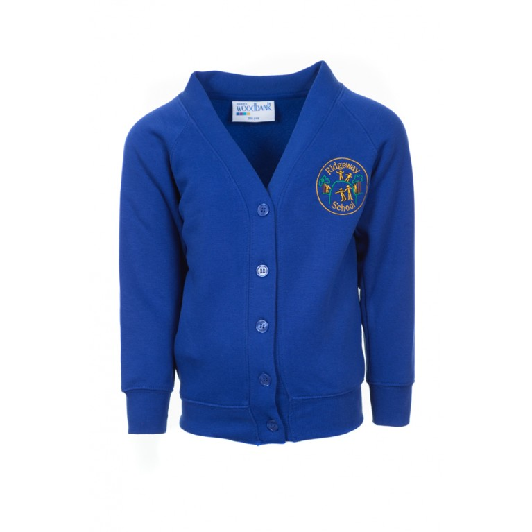 Blue Woodbank Cardigan