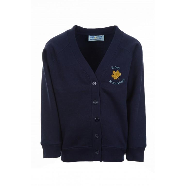 Navy Select Cardigan