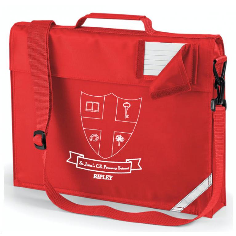 Red Junior Bookbag (Stock due mid December)