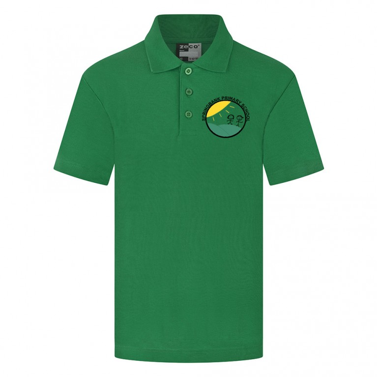 Green Heavyweight Polo Shirt
