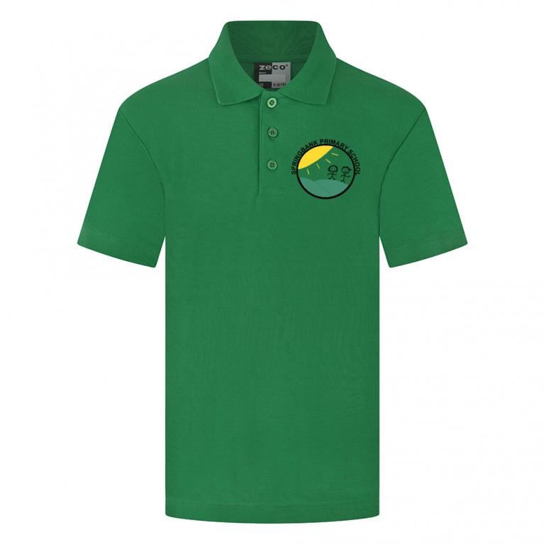 Green Heavyweight Polo Shirt