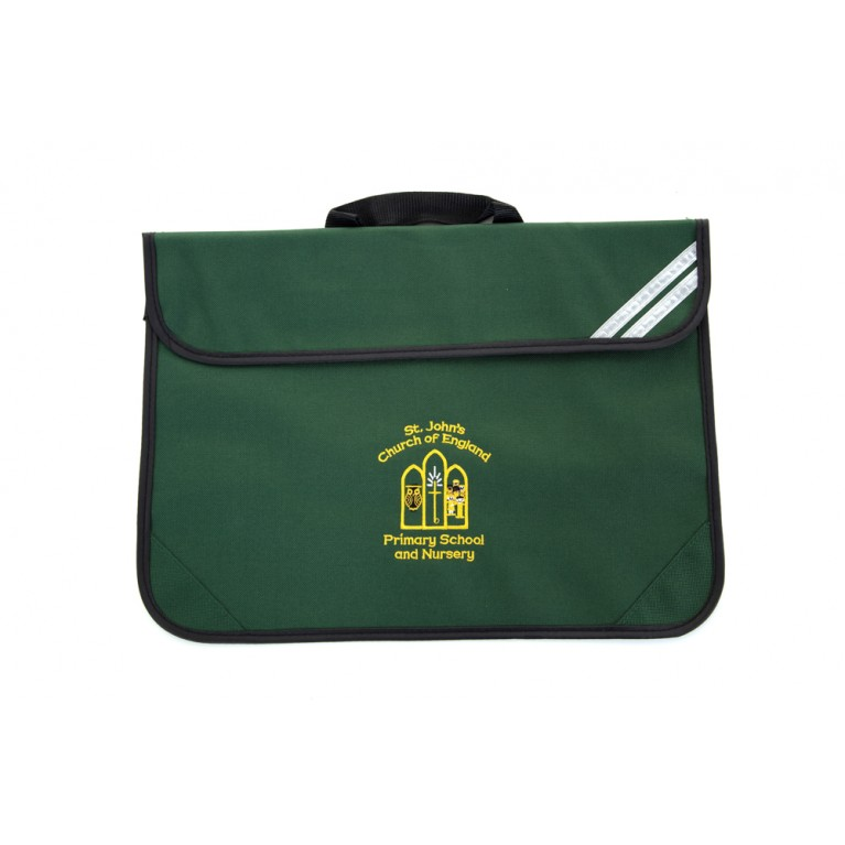 Green Short Handle Bookbag
