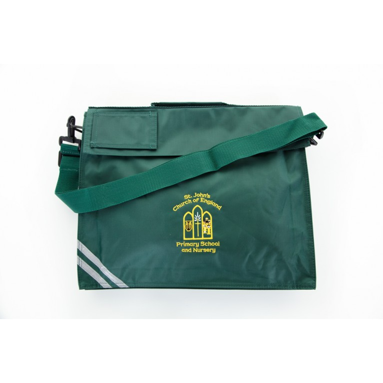 Green Long Handle Bookbag