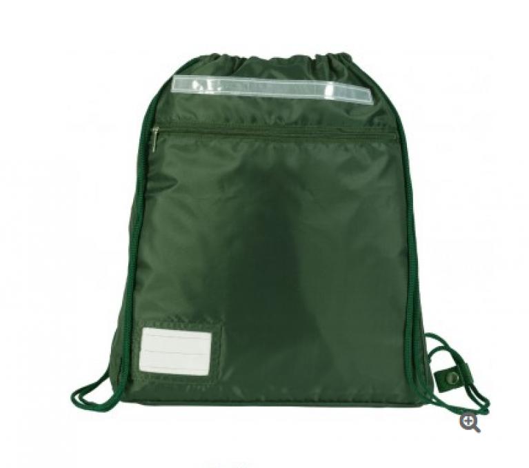 Plain Green Kit Bag