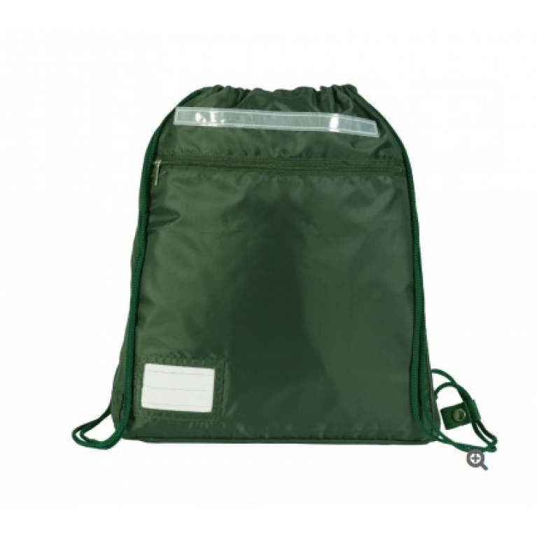 Plain Green Kit Bag