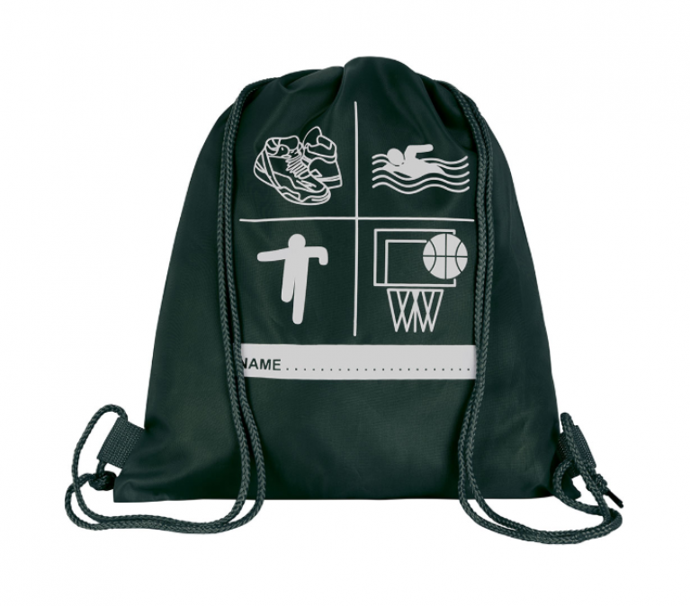Green P.E Bag