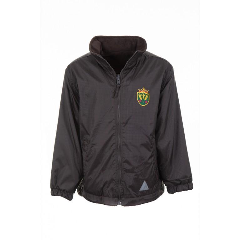 Brown Reversible Showerproof Jacket