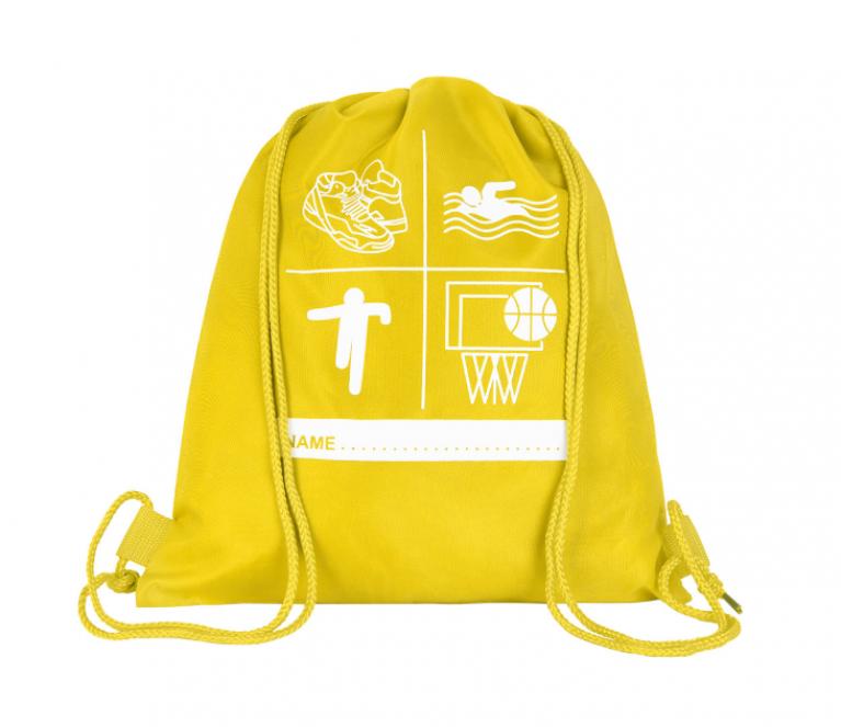 Yellow P.E Bag
