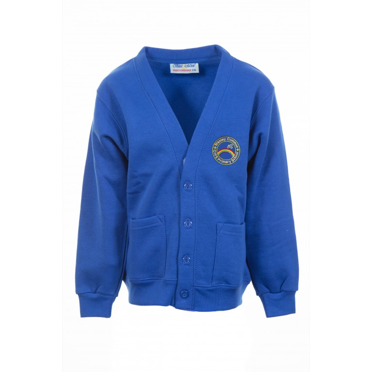 Blue Select Cardigan