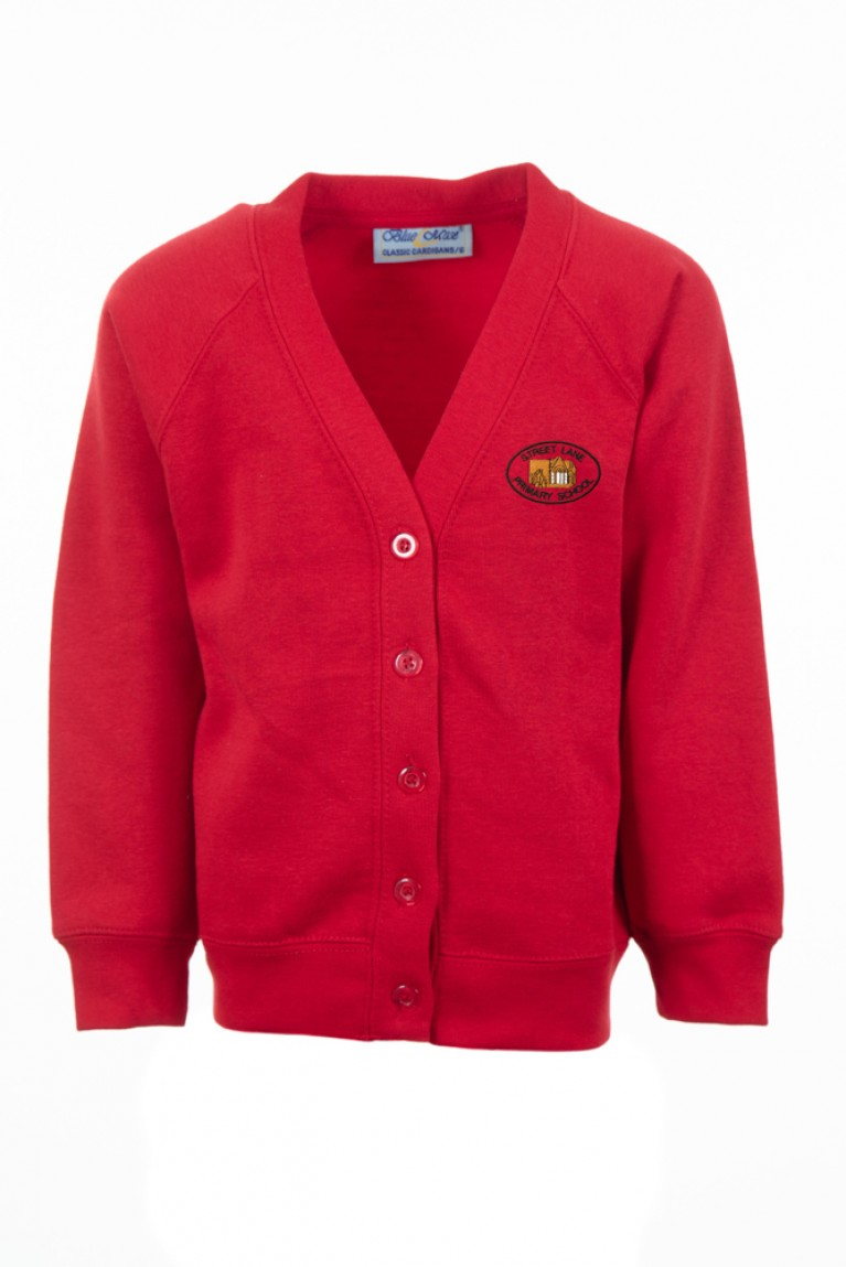 Red Select Cardigan