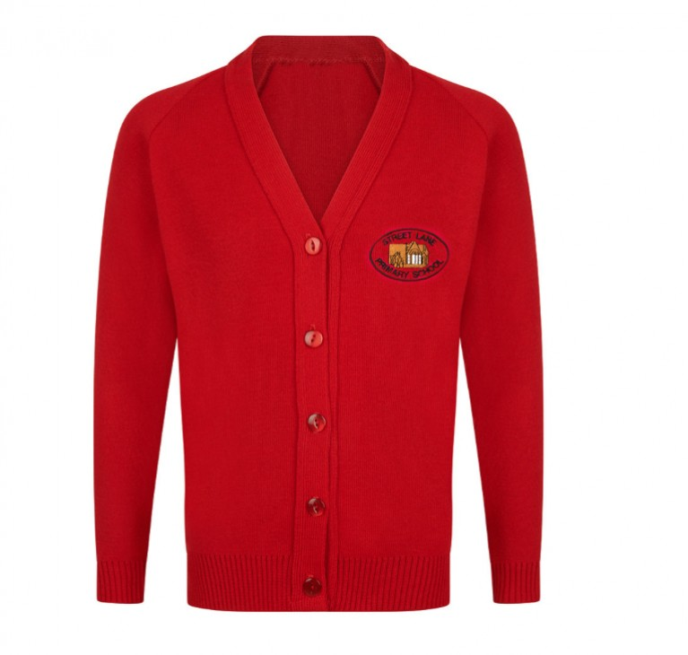 Scarlet Knitted Cardigan
