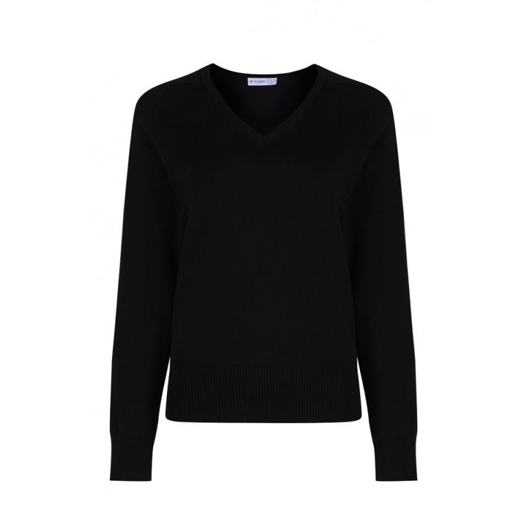 Black Trutex Jumper - Girls Fit