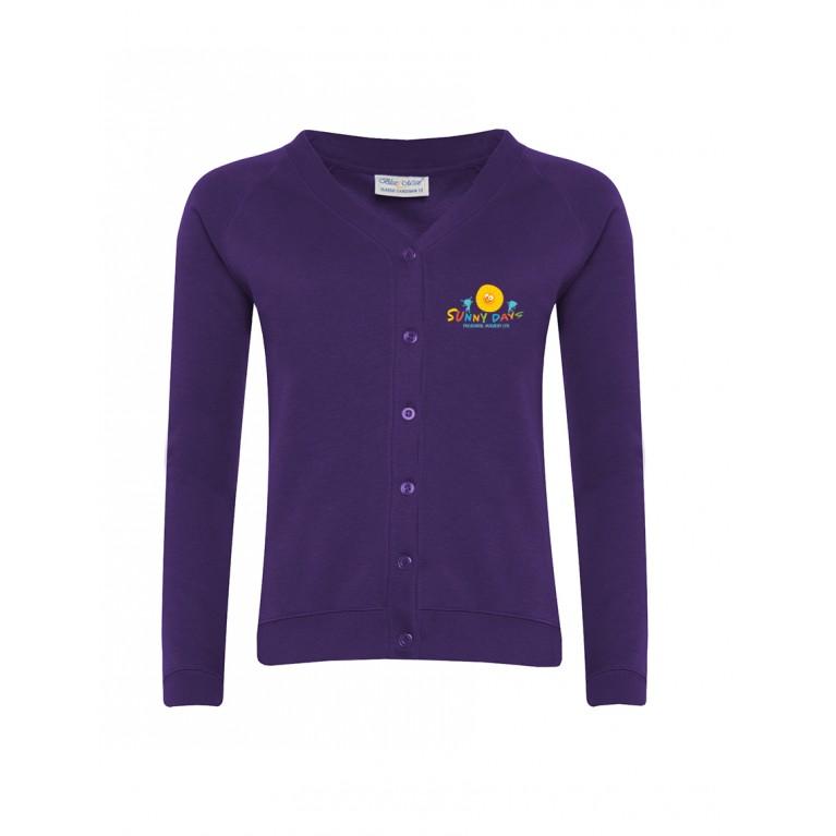 Purple Select Cardigan