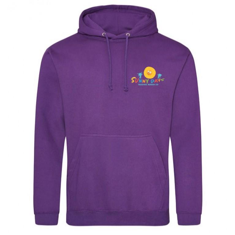 Staff Purple Hoodie (printed)