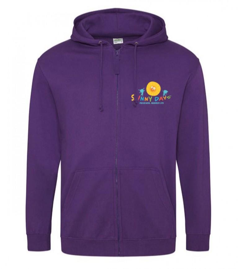 Staff Purple Zoodie