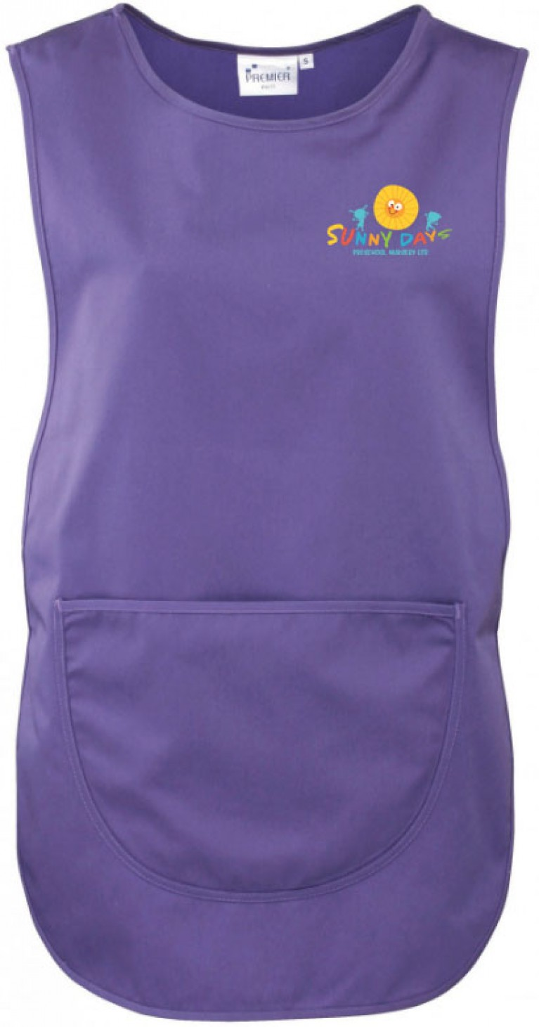 Staff Purple Tabard