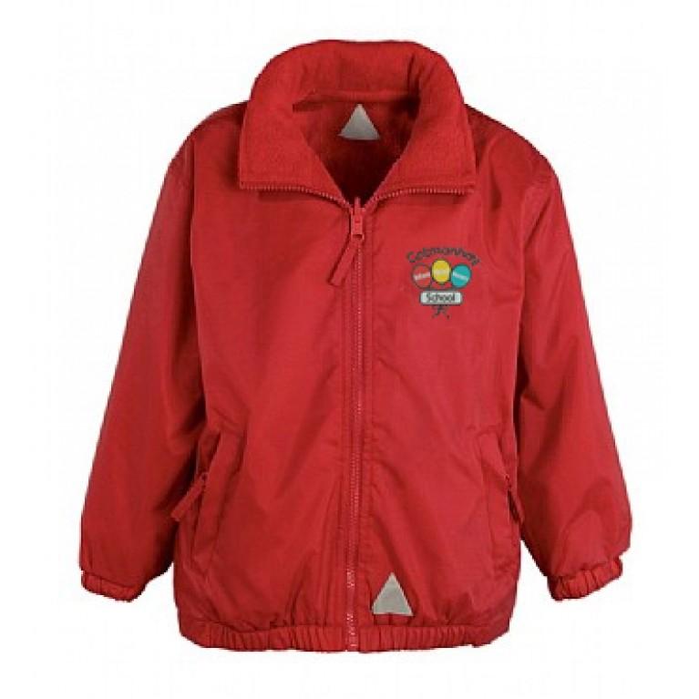 Red Showerproof Jacket