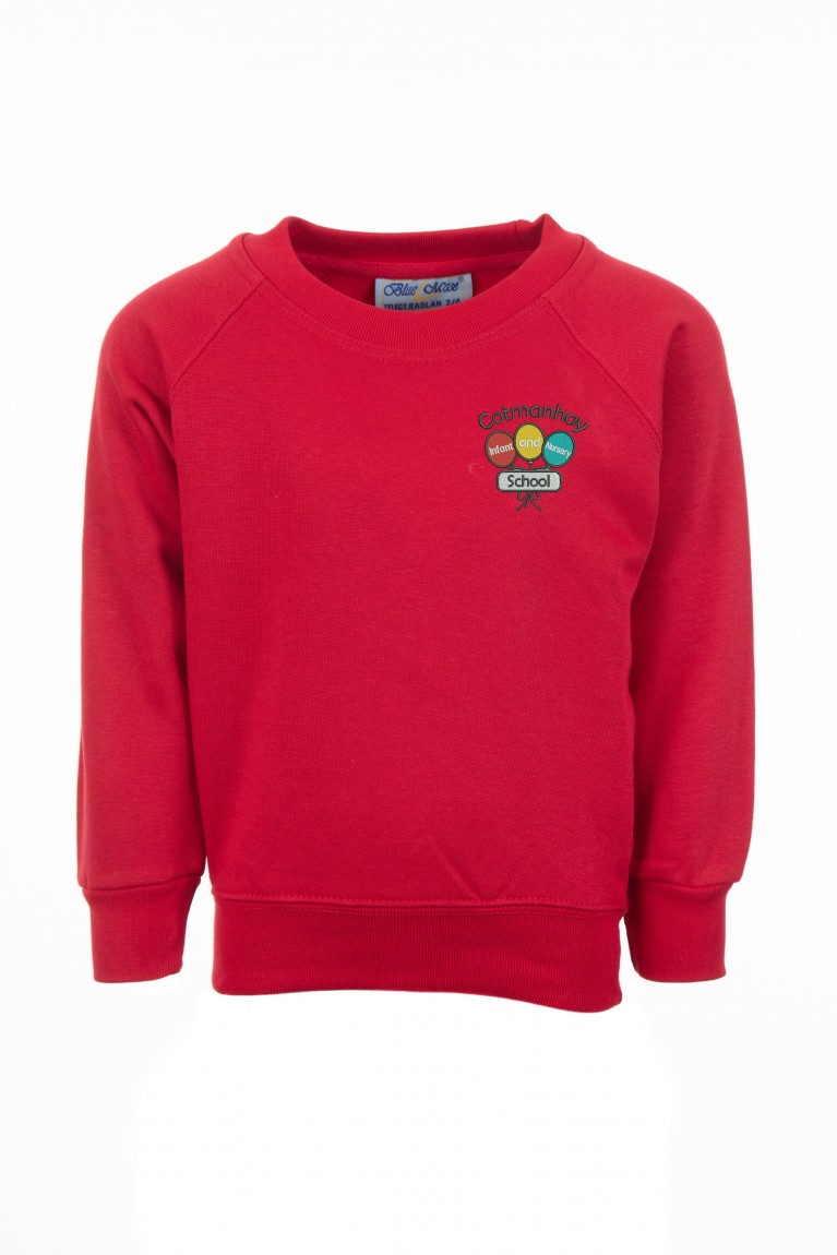 Red Classic Sweatshirt