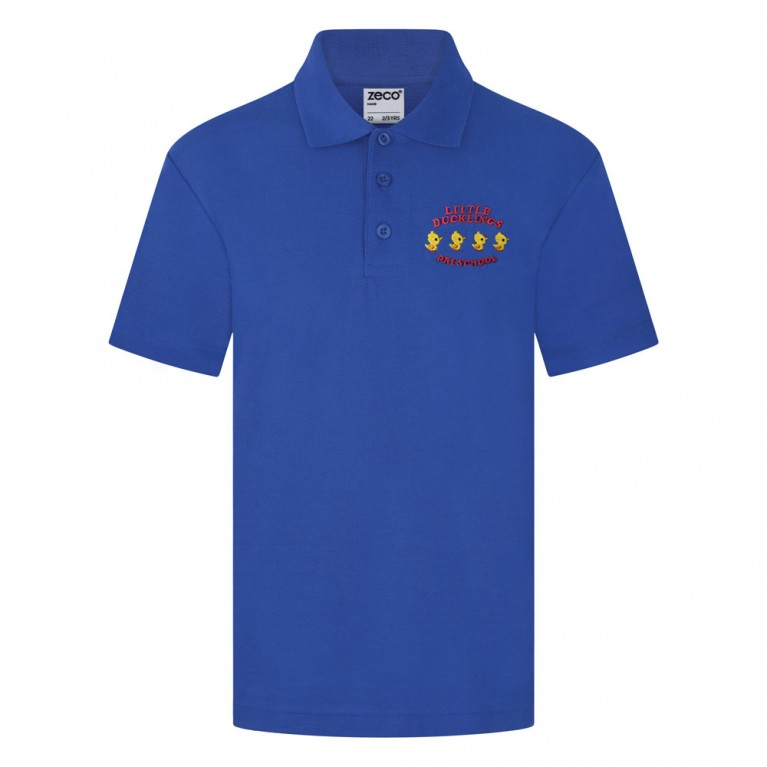 Royal Blue Classic Polo