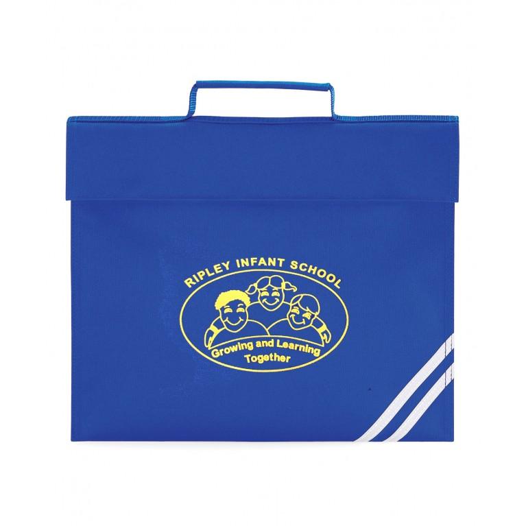 Blue Infant Bookbag - Printed (Stock Due End July)