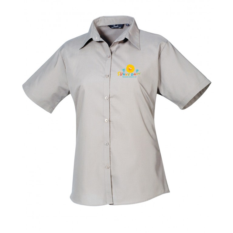 Staff Silver Blouse (printed)