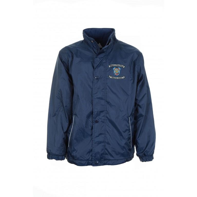 Navy Reversible Showerproof Jacket